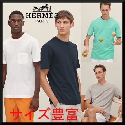 HERMES★エルメス★T-shirt with pocket★Tシャツ