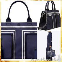 Tory Burch(トリーバーチ) トートバッグ 【国内発 Tory Burch 送料込】トリーバーチ CANVAS TOTE
