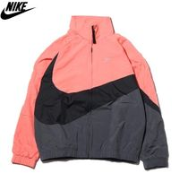 ☆国内正規品 要在庫確認☆NIKE AS M NSW HBR JKT WVN STMT PINK