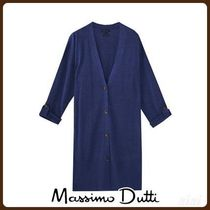 MassimoDutti♪KNIT CARDIGAN WITH BUTTONED TABS