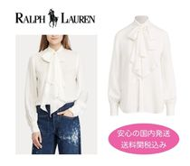 【国内発送】Ralph Lauren Necktie Silk Button Shirt セール!