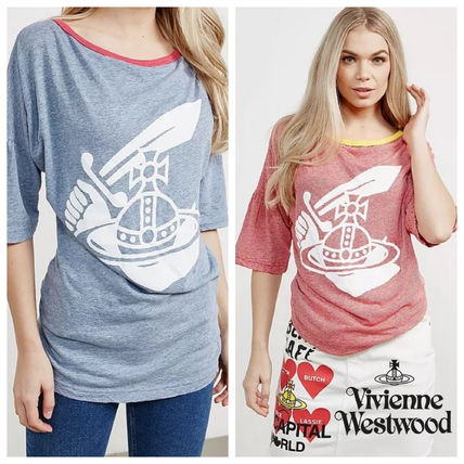 Vivienne Westwood Anglomania Tシャツ ペプラム袖 国内発送