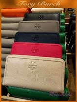 TORY BURCH☆THEA MULTI GUSSET ZIP WALLET★ロゴ長財布