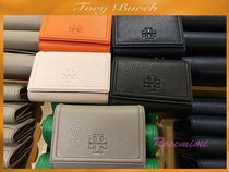 TORY BURCH☆THEA MEDIUM FLAP WALLET★ロゴ付き3つ折り財布