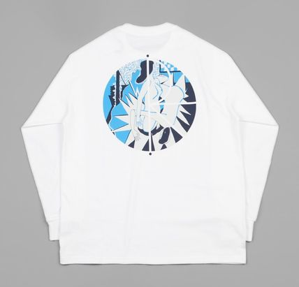 Polar Skate Co Tシャツ・カットソー 【日本未入荷】Polar 69 Fill Logo Long Sleeve T-Shirt