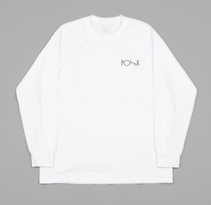 Polar Skate Co Tシャツ・カットソー 【日本未入荷】Polar 69 Fill Logo Long Sleeve T-Shirt(2)