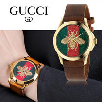 *GUCCI* YA126451 G-Timeless Red and Green Watch YA126451A