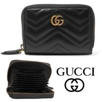 【GUCCI グッチ】SS19 GG quilted leather wallet 財布 関税込