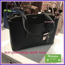 【kate spade】A4/laptop収納可★margaux large work tote★