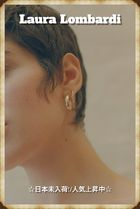 【日本未入荷/NEW!!】Laura Lombardi Mini Band Earrings