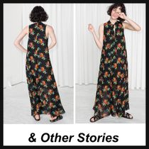 &Other Stories☆花柄ロングワンピース