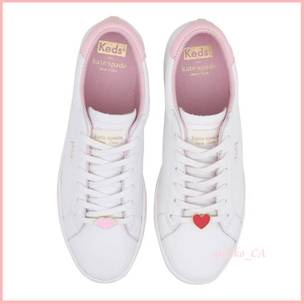 kate spade new york スニーカー 【国内発送】kedsコラボ ace lips hearts sneakers セール(2)
