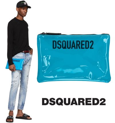 Dsquared2(ディースクエアード) メンズ ポーチ 国内発送関税込み