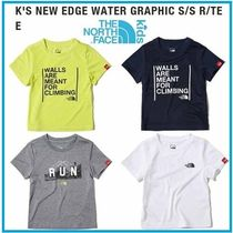 THE NORTH FACE★正規品★K'S NEW EDGE WATER GRAPHIC Tシャツ