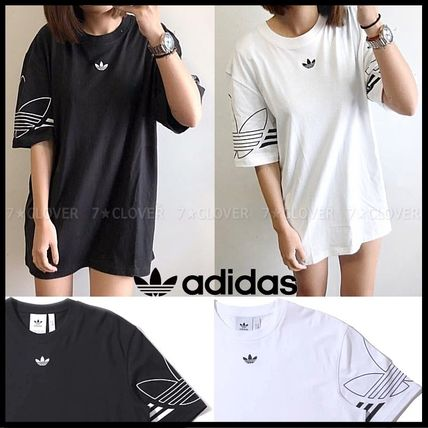 adidas Tシャツ・カットソー 国内発送/正規品★adidas Originals★MEN'S TREFOIL OUTLINE TEE(5)