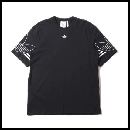 adidas Tシャツ・カットソー 国内発送/正規品★adidas Originals★MEN'S TREFOIL OUTLINE TEE(7)