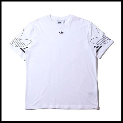 adidas Tシャツ・カットソー 国内発送/正規品★adidas Originals★MEN'S TREFOIL OUTLINE TEE(13)