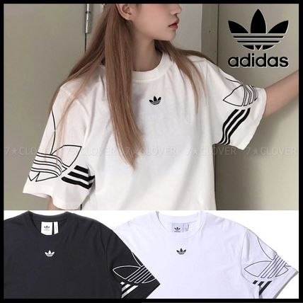 adidas Tシャツ・カットソー 国内発送/正規品★adidas Originals★MEN'S TREFOIL OUTLINE TEE