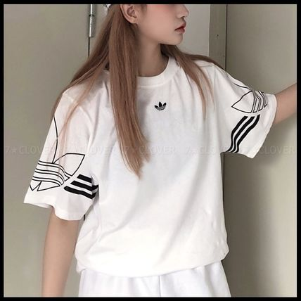 adidas Tシャツ・カットソー 国内発送/正規品★adidas Originals★MEN'S TREFOIL OUTLINE TEE(2)