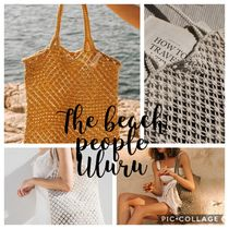 The Beach People(ビーチピープル) かごバッグ 大人気☆The beach people☆マクラメバッグ