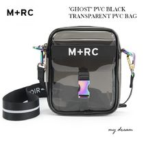 "確保済 M+RC NOIR ""GHOST"" PVC BLACK TRANSPARENT PVC BAG"