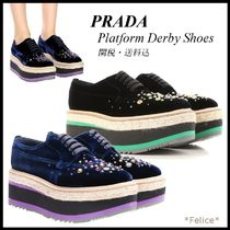 *PRADA*Platform Derby Shoes 関税/送料込