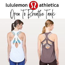 【lululemon】Open To Breathe Tank 背中美人タンク