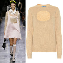 PR1924 LOOK12 CASHMERE SWEATER WITH CUT OUT DETAIL