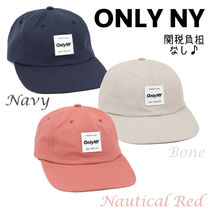 ONLY NY★ロゴ入り♪ポロハット/3色