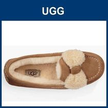 即発送!(US7)☆UGG☆Ansley Fur Bow