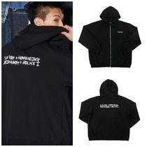 I AM NOT A HUMAN BEING(ヒューマンビーイング) パーカー・フーディ I AM NOT A HUMANBEINGのBasic Logo Zip-up Hoodie