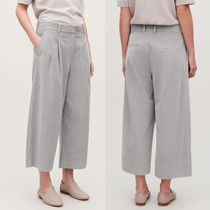 """COS"" WIDE-LEG CORDUROY TROUSERS LIGHTGRAY"