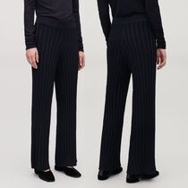 """COS"" RIBBED TROUSERS MIDNIGHT BLUE"