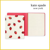 【Kate Spade】Strawberries Concealed Spiral Notebook イチゴ