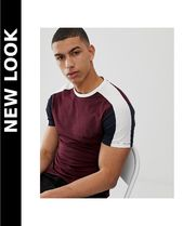 New Look(ニュールック) Tシャツ・カットソー 送料込★New Look★muscle fit Tシャツ/burgundy