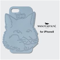 【MAISON KITSUNE】3D Fox iPhone8 ケース(送料関税込)