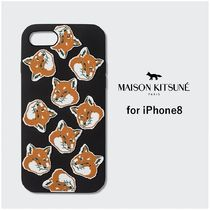 【MAISON KITSUNE】ALL-OVER FOX HEAD iPhone8 スマホケース