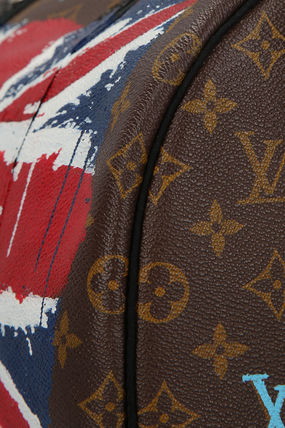 7ba0c4ea4d ... Louis Vuitton ハンドバッグ PHILIP KARTO Music England print Speedy 35 bag(5)