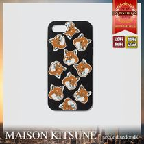 MAISON KITSUNE ALL-OVER FOX HEAD iPhone8 スマホケース