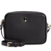 kate spade ☆polly medium camera bag black