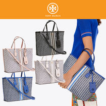 Tory Burch【国内発送・関税込】チャーム付 Canvas Small Tote