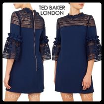 【TED BAKER】UK発! Lucila Lace レースワンピース 紺