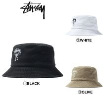 【STUSSY】☆2019-SS新作☆WARRIOR MAN BUCKET HAT