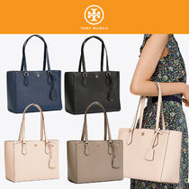 Tory Burch【国内発送・関税込】チャーム付 革製 Small Tote