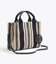 TORY BURCH◇MILLER STRIPED MINI TOTE◇2WAY ミニトートバッグ