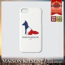 MAISON KITSUNE Resting Fox iPhone8 ロゴ スマホケース