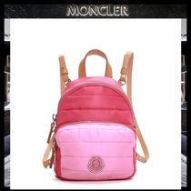 【MONCLER】大人もOK KILIA キッズ バッグパック PINK/追跡付