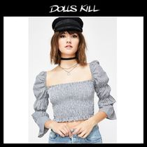 関税/送料込 *DOLLS KILL*SMOOTH OPERATOR CROP TOP