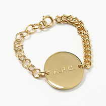 A.P.C. MEACC F70420 aude プレート ブレスレット OR