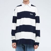 韓国発 this is neverthat  ラガ−シャツ Striped Rugby Shirt